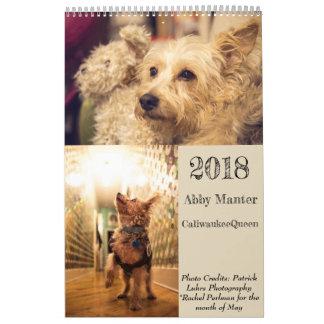 2018 CaliwaukeeQueen Calendar