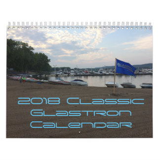 2018 CGOAMN Classic Glastron Calendar