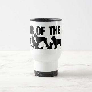 2018 Chinese New Year of The Dog White Travel M Travel Mug