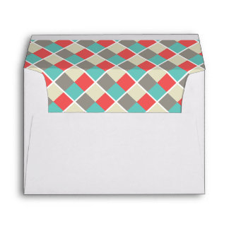 2018 Color Blocks Simple New Year Holiday Envelope