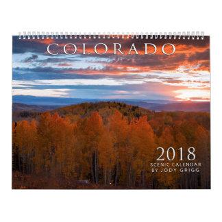 2018 Colorado Scenic Calendar