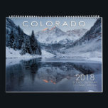 """2018 Colorado Scenic Calendar<br><div class=""""desc"""">This is a Colorado Scenic Calendar showcasing various places from around the Centennial State. Great Sand Dunes National Park and Preserve, Wilderness Areas, Colorado Fourteeners, National Forests are just some of the areas displayed in this landscape/nature calendar. If you like mountains, snow, sunrises, sunsets, aspens forests, fall colors this is...</div>"""