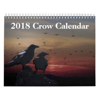 2018 Crow Raven Calendar