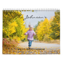 2018 Custom Calendar | Editable Year Text