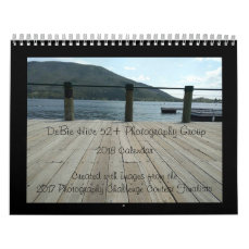 2018 DeBie Hive 52+ Photo Challenge Group Calendar