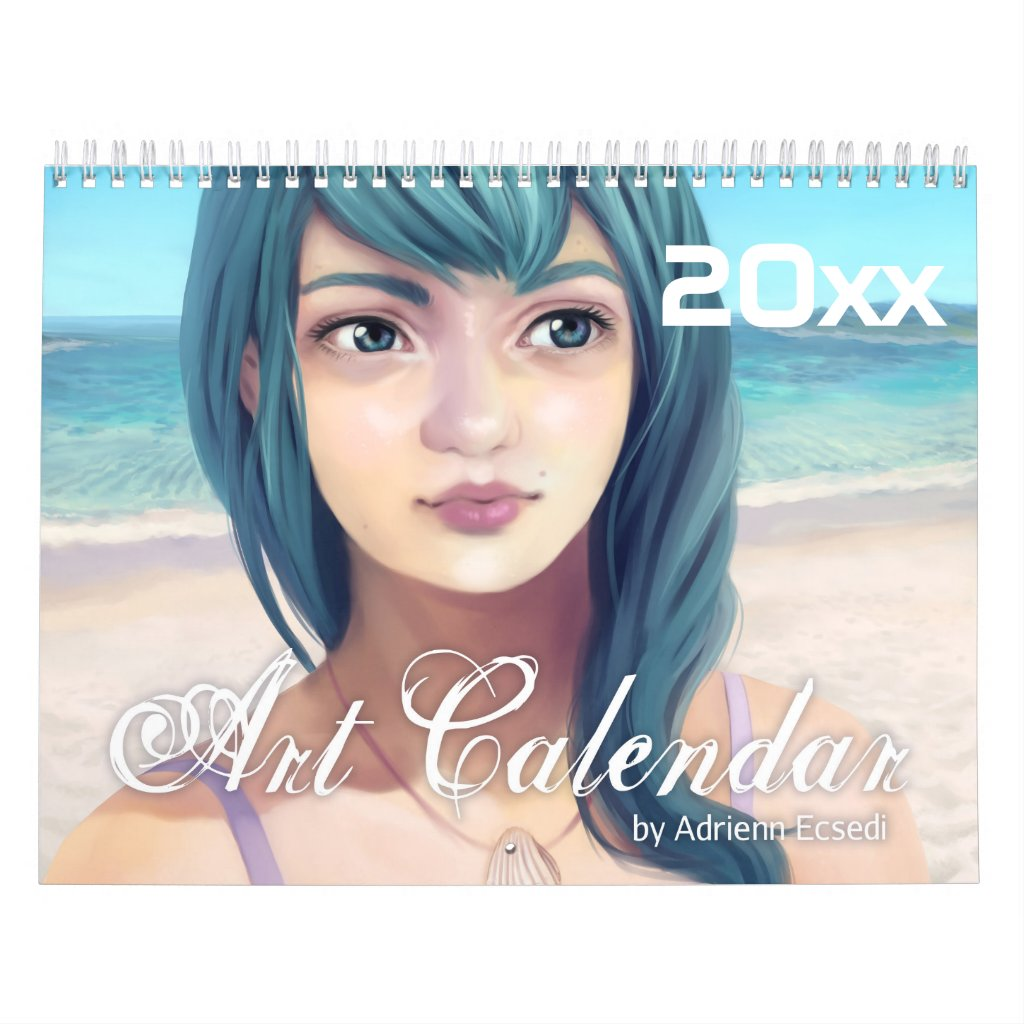 2018 Digital Art Calendar