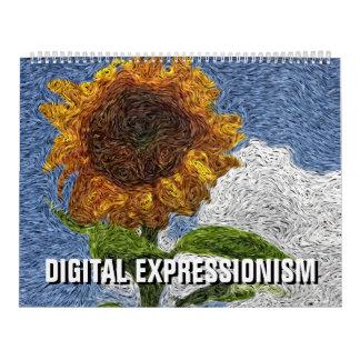 2018 Digital Expressionism Calendar