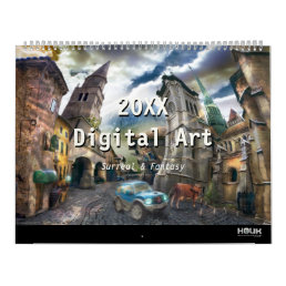 2018 Digital Surreal & Fantasy Art Calendar