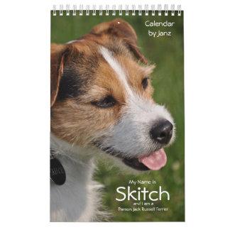 2018 Dog Wall Calendar by Janz