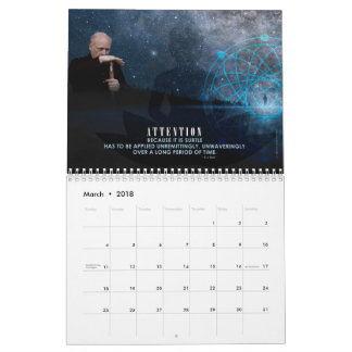 2018 E.J Gold Quote Calendar
