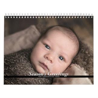 2018 family calendar personalized photos