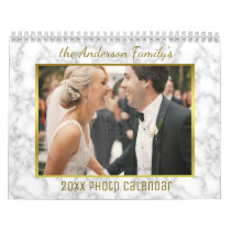 2018 Family Photo | Patterns Easy Custom Template Calendar