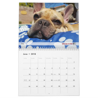 2018 FBRN French Bulldog Calendar
