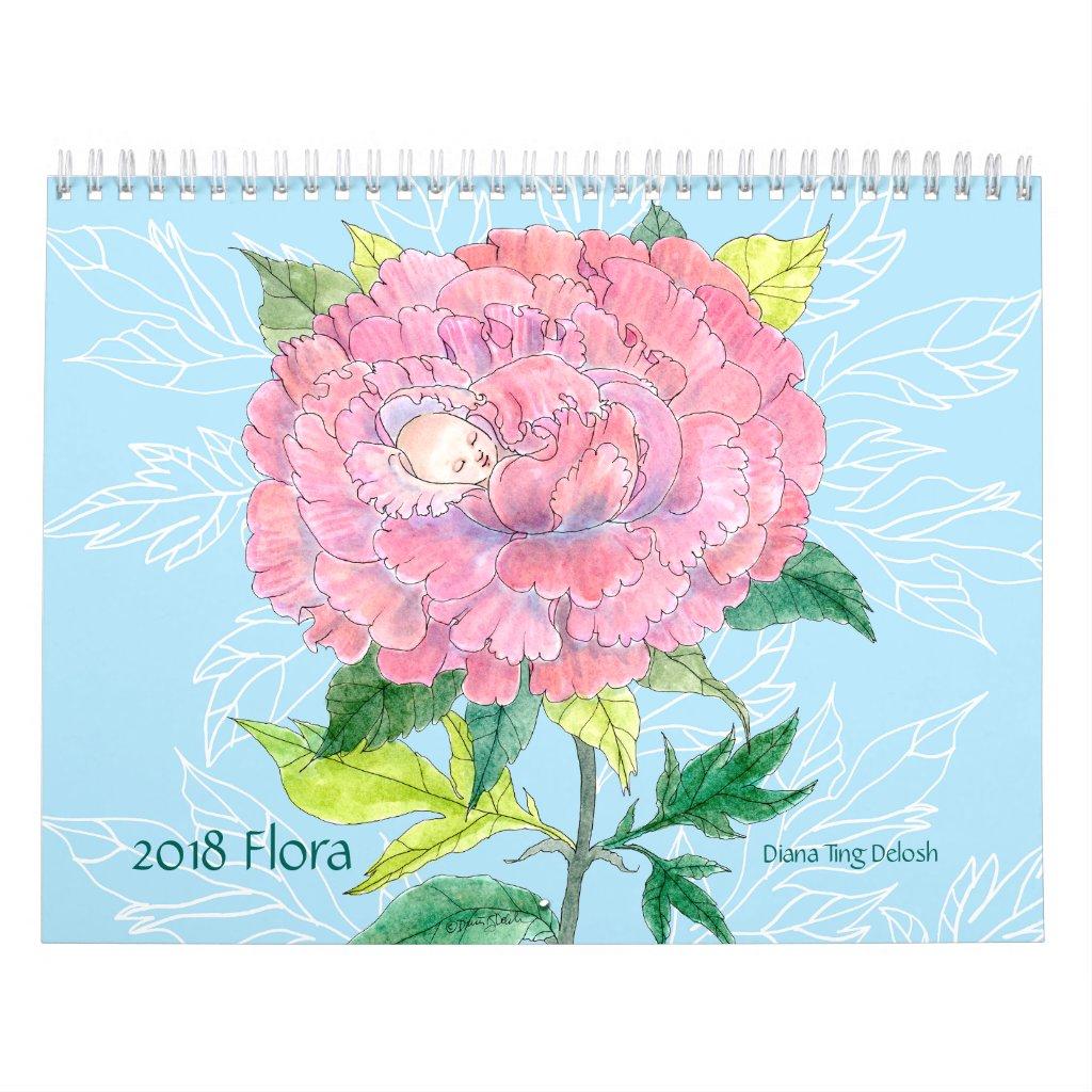 2018 Flora Calendar