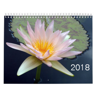2018 Flowers Calendar