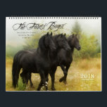 "2018 Forest Boyz Calendar<br><div class=""desc"">Meike, Menno and Saphire, affectionately known as The Forest Boyz, are Friesian stallions that live free in a bachelor herd in the forests of the northern California coast. Nothing brings me more joy than giving these stallions the best life that I possibly can. It is rare to see stallions living...</div>"