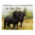 2018 Forest Boyz Calendar<br><div class='desc'>Meike, Menno and Saphire, affectionately known as The Forest Boyz, are Friesian stallions that live free in a bachelor herd in the forests of the northern California coast. Nothing brings me more joy than giving these stallions the best life that I possibly can. It is rare to see stallions living...</div>