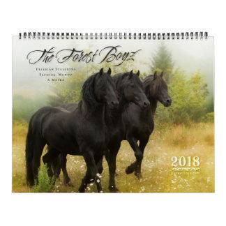2018 Forest Boyz Calendar