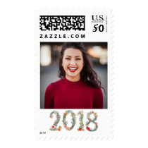 2018 Graduate Stamp Floral Girl