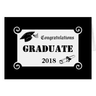 2018 Graduation Congratulation Card