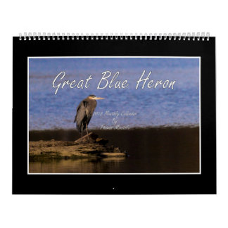 2018 Great Blue Heron Calendar By Thomas Minutolo