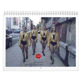 2018 Guilty Pleasures Cabaret Calendar