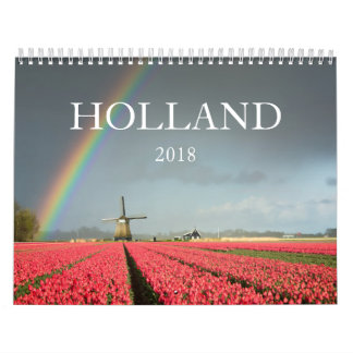 2018 Holland landscape photography calendar