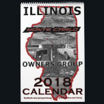 """&quot;2018&quot; Illinois Monte Carlo Owners Group Calendar<br><div class=""""desc"""">Dress up that plain wall with 12 months of prime examples of Illinois&#39; finest Monte Carlos. The 12 member&#39;s (and their cars) are all part of the Illinois Monte Carlo Owners Group (IMCOG) - originally started on Yahoo, and is currently active on FaceBook. This is a whole-page &quot;flip-up&quot; style calendar...</div>"""