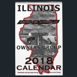"&quot;2018&quot; Illinois Monte Carlo Owners Group Calendar<br><div class=""desc"">Dress up that plain wall with 12 months of prime examples of Illinois&#39; finest Monte Carlos. The 12 member&#39;s (and their cars) are all part of the Illinois Monte Carlo Owners Group (IMCOG) - originally started on Yahoo, and is currently active on FaceBook. This is a whole-page &quot;flip-up&quot; style calendar...</div>"