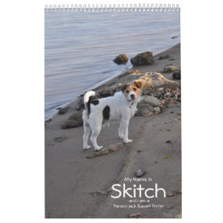 2018 Jack Russell Terrier Dog Calendar by Janz