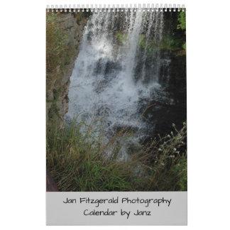 2018 Jan Fitzgerald Photography Calendar by Janz