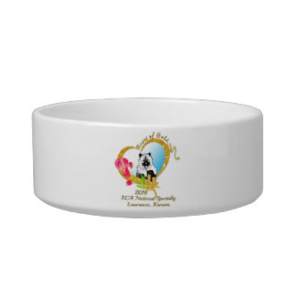 2018 KCA National Ceramic Dog Bowl