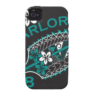 2018 Lady Warlords - Black iPhone 4 Cases