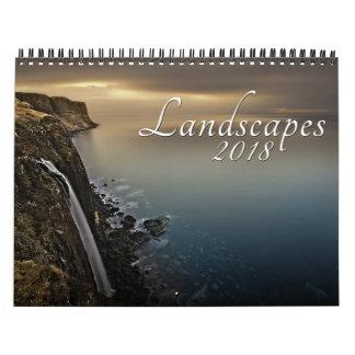2018 Landscape Photography Calendar