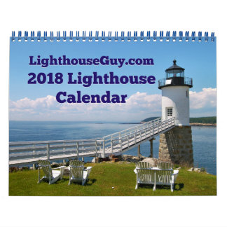 LighthouseGuy.com 2018  Lighthouse Calendar