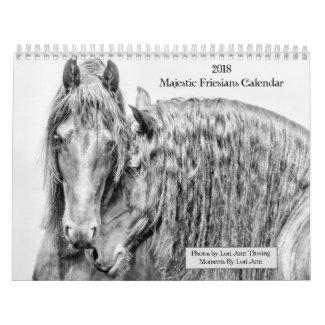 2018 Majestic Friesians Calendar