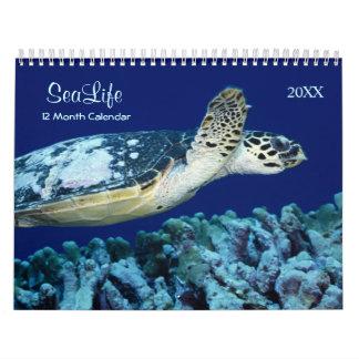 2018 Marine Fish and Sea Life Calendar