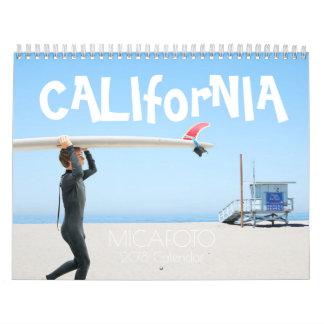 "2018 MICAFOTO Calendar ""CALIforNIA"" US ver."