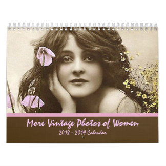2018 More Vintage Photos of Women Calendar