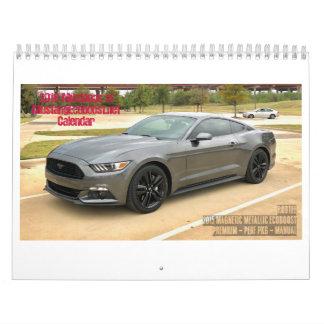 2018 Mustang Ecoboost.NET Member's calendar