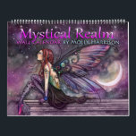 """2018 Mystical Realm Fantasy Fairy Calendar<br><div class=""""desc"""">Mystical Realm Wall Calendar by Molly Harrison &#169; Molly Harrison 2017 Featuring 12 of Molly&#39;s paintings that have not appeared in any previous calendars!</div>"""