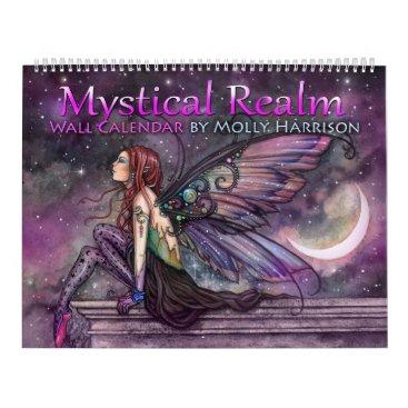 robmolily 2018 Mystical Realm Fantasy Fairy Calendar