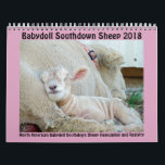 "2018 NABSSAR Babydoll Southdown sheep calendar<br><div class=""desc"">This calendar was made possible by the members of the North American Babydoll Southdown Sheep Association and Registry who submit photos to the annual calendar photo contest. NABSSAR was formed in 2005 as a non-profit organization in order to protect and promote the breed. We hope you enjoy our calendar; but,...</div>"