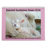2018 NABSSAR Babydoll Southdown sheep calendar<br><div class='desc'>This calendar was made possible by the members of the North American Babydoll Southdown Sheep Association and Registry who submit photos to the annual calendar photo contest. NABSSAR was formed in 2005 as a non-profit organization in order to protect and promote the breed. We hope you enjoy our calendar; but,...</div>