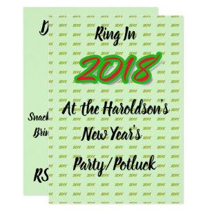 Potluck Party Invitations Announcements Zazzle