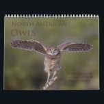 "2018 North American Owl Wall Calendar<br><div class=""desc"">Owls are one of my favorite subjects to photograph, and I spend several hours a week throughout the year looking for them. This calendar features beautiful images of barred, burrowing, eastern screech, great gray, great horned, long-eared, saw-whet, short-eared and snowy owls. I hope you enjoy this calendar as much as...</div>"