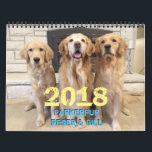 "2018 ParkerPup Calendar<br><div class=""desc"">Celebrate the entire year with Parker,  Reser and puppy-Gill! How can anyone resist these faces. They will make you smile,  laugh,  and help remind you of important events in your life. Good dogs!</div>"