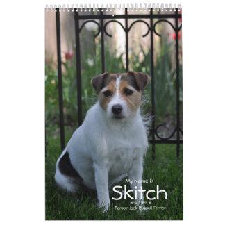 2018 Parson Russell Terrier Dog Calendar by Janz