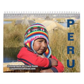 2018 Peru Calendar - Puno Peru Calendar