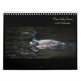 2018 Pine Lake Loon Calendar